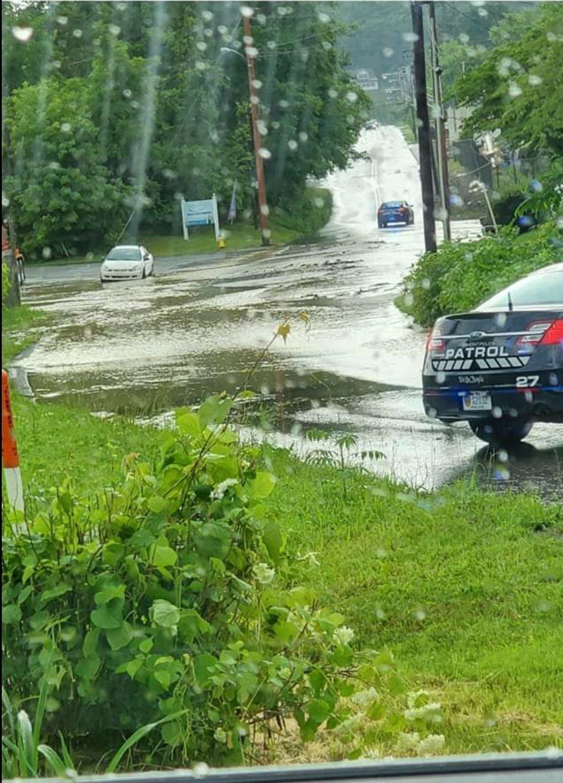 Morgantown Ave. flooding