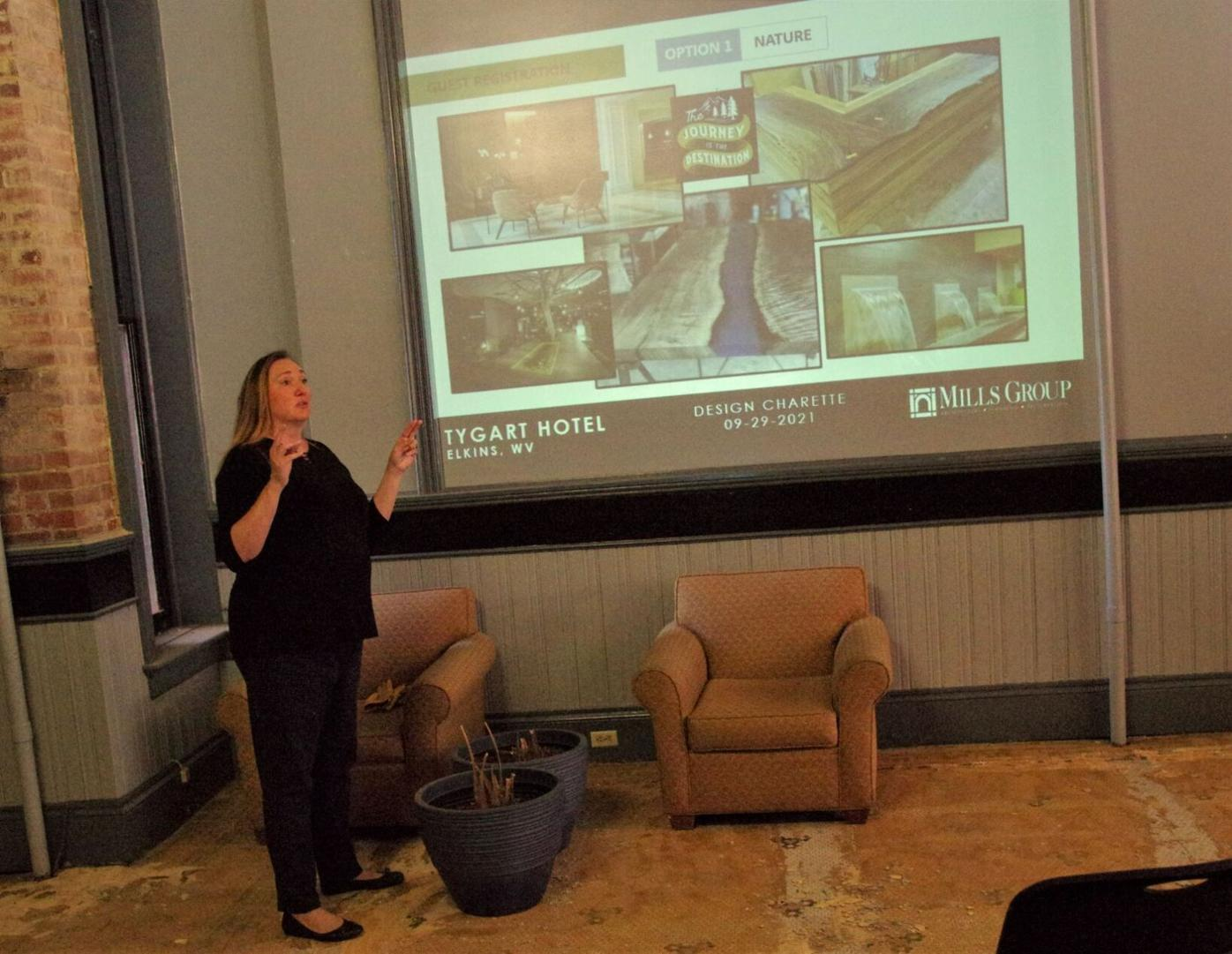 Tygart Hotel design presentation