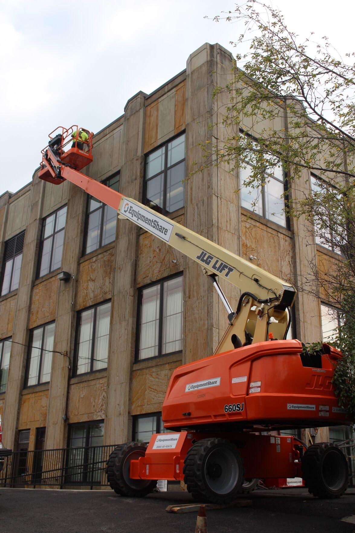 Preston Courthouse repairs