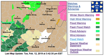 NWS Map 02-12
