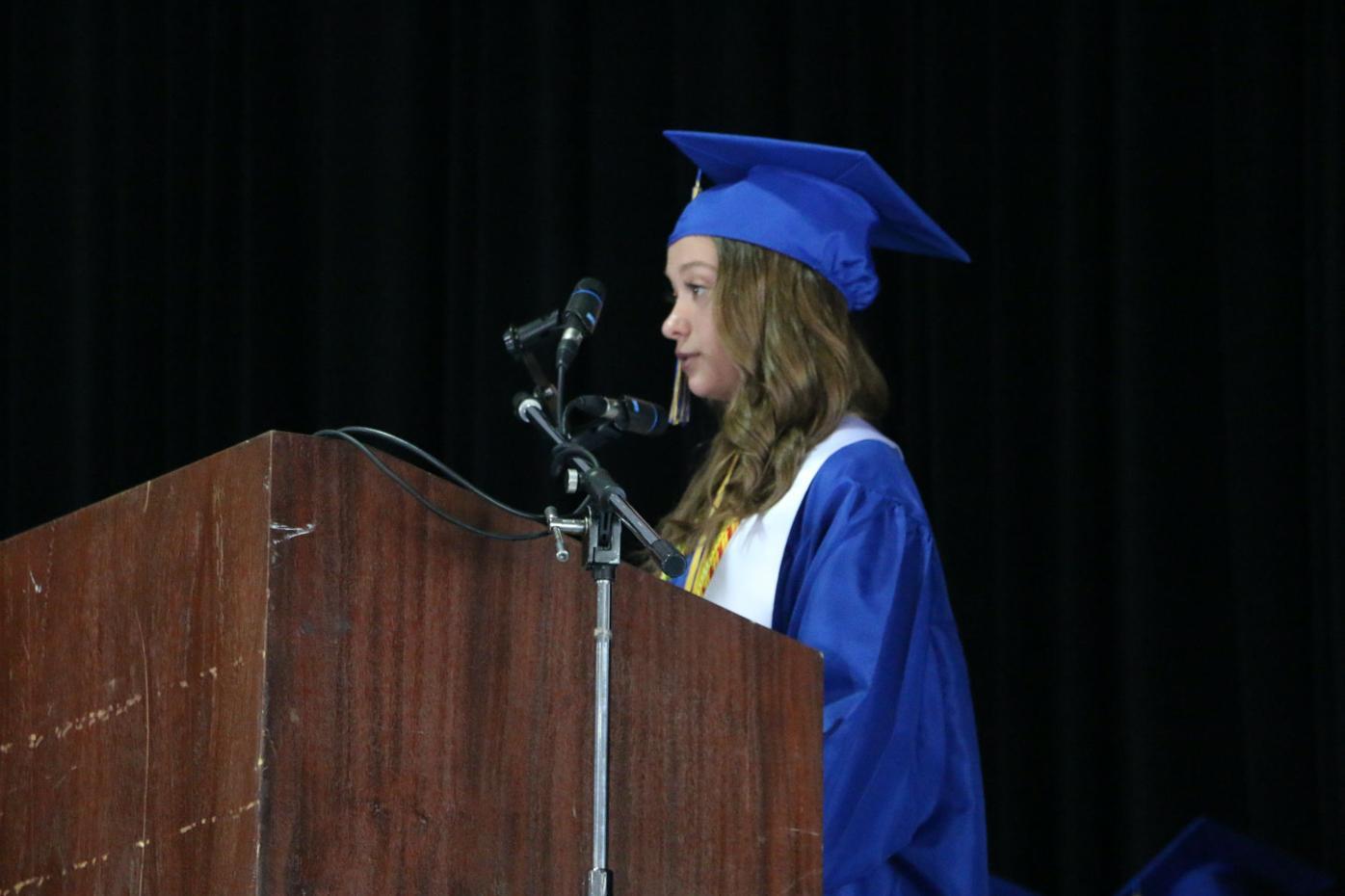 Northern valedictorian speaks