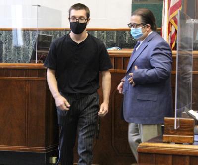 Taron Michael Lackey in court Monday