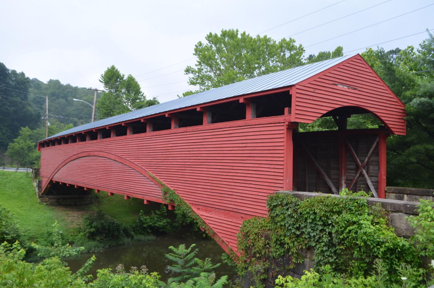 Barrackville Covered Bridge - July 2021