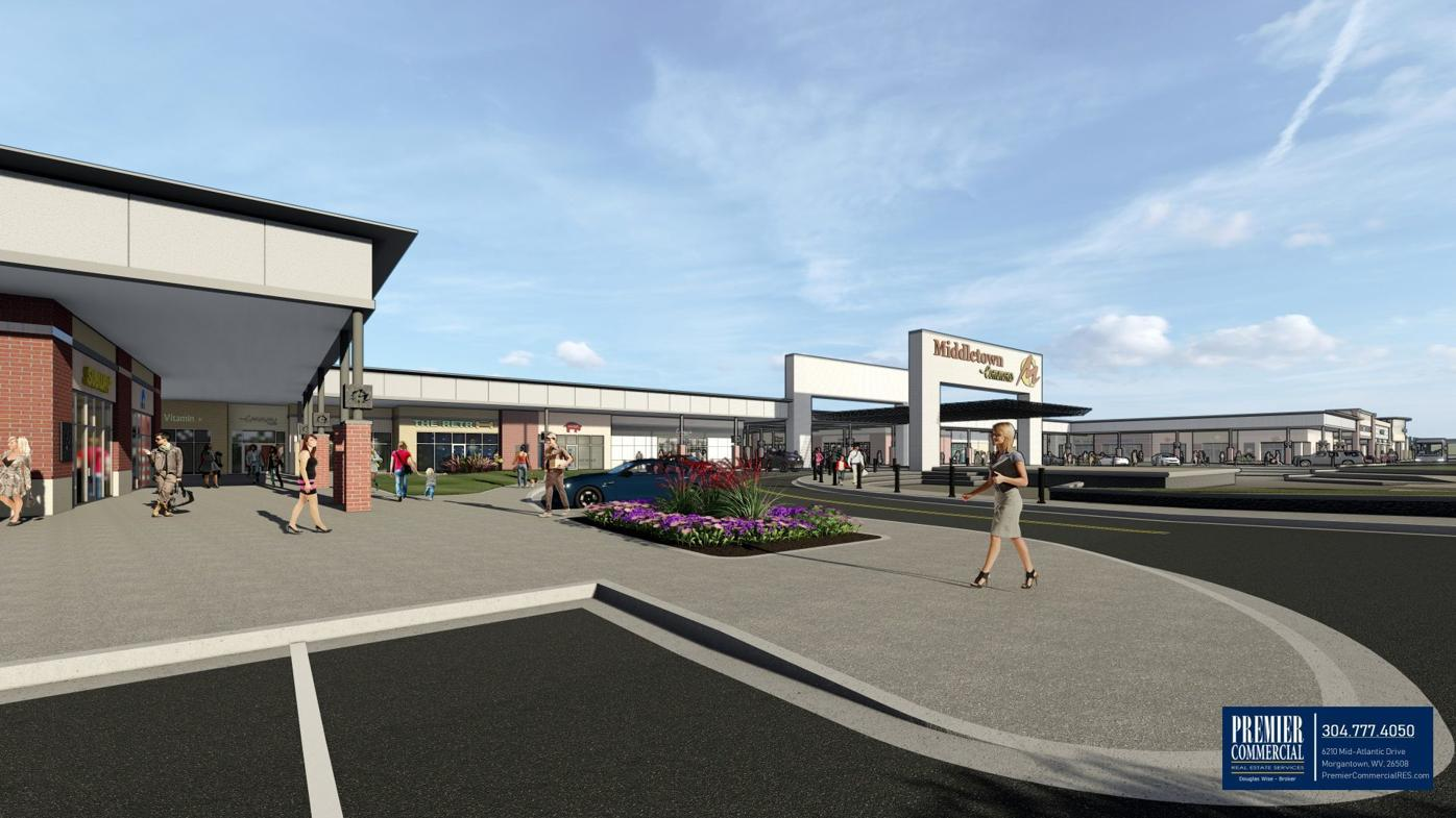 Middletown Commons rendering - exterior