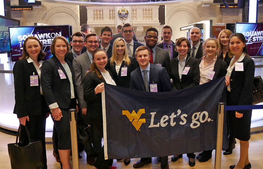 WVU students in New York City