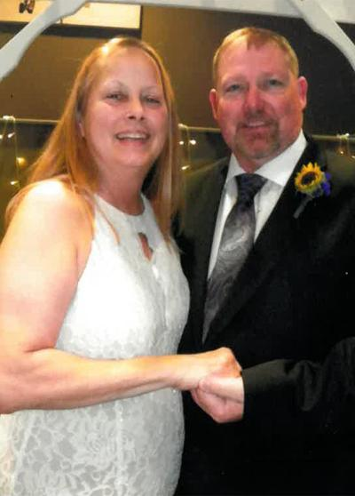 Lisa June Pitts and James Duane Griffith wedding photo