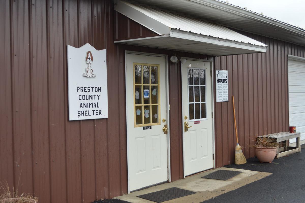 Preston County Animal Shelter exterior