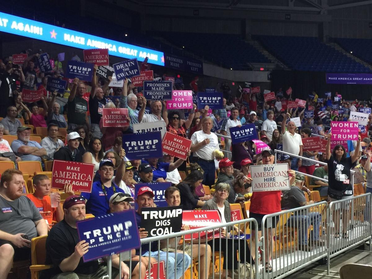President Trump's W.Va. Army