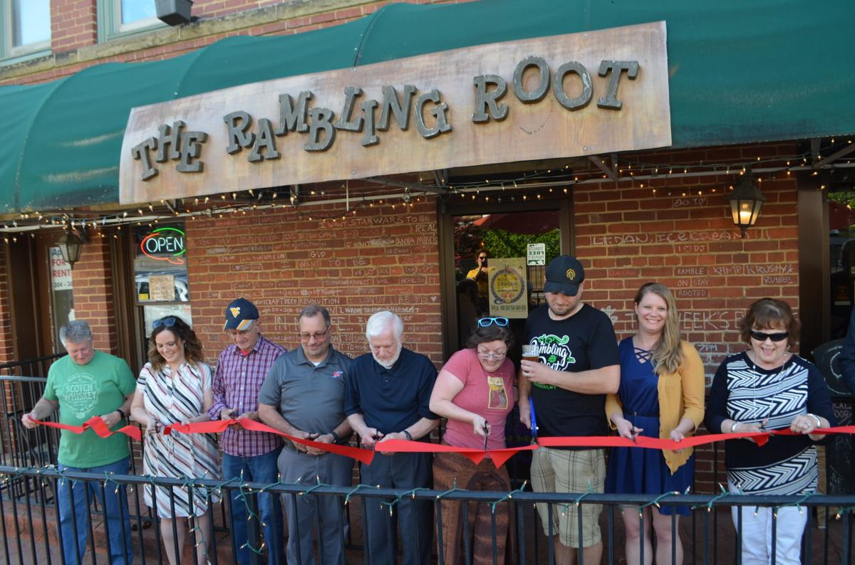 Rambling Root ribbon cutting