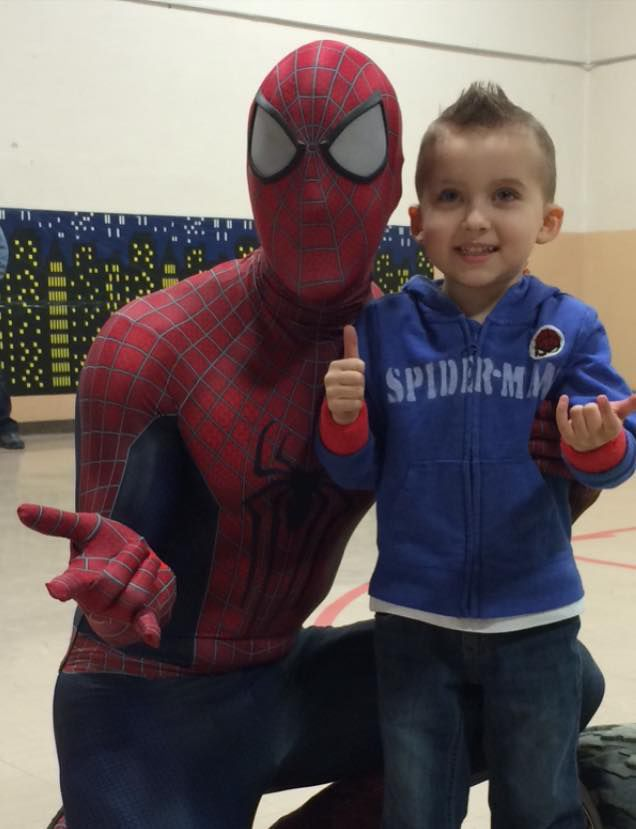 Jack and Spiderman