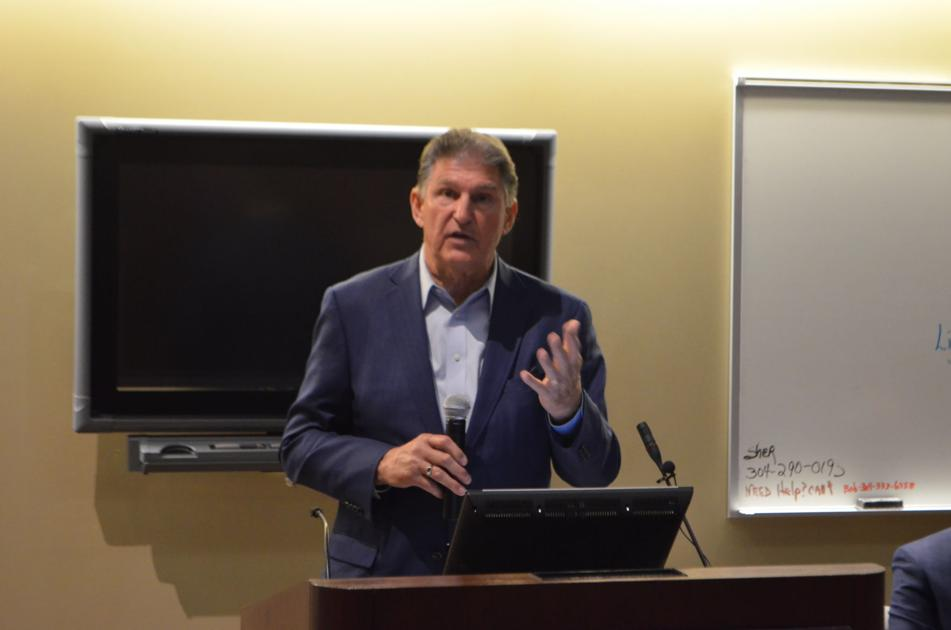 Sen. Joe Manchin discusses American Rescue Plan with north central West Virginia officials