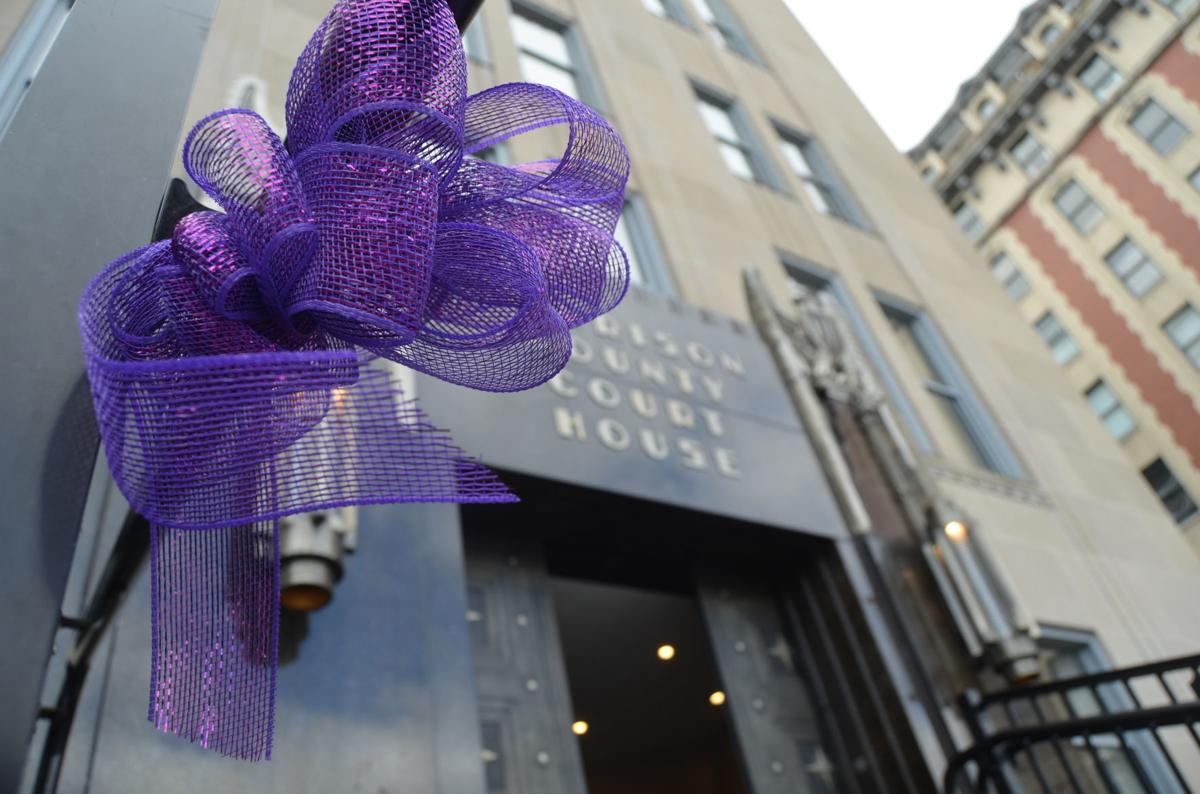 Domestic violence ribbon Hope