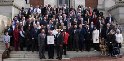Gov. Larry Hogan proclaims 2019 as the Year of the Veteran in Maryland