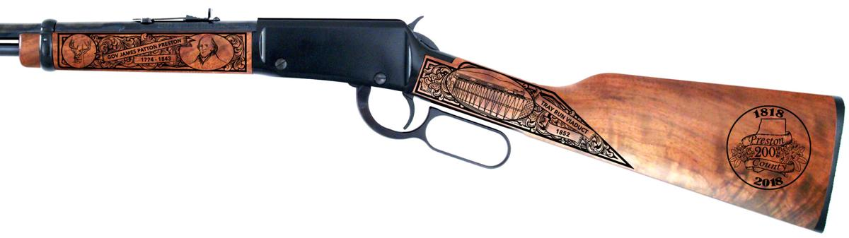 Henry Standard Rifle with presentation side engravings