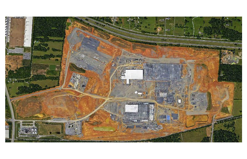 P&G Aerial View