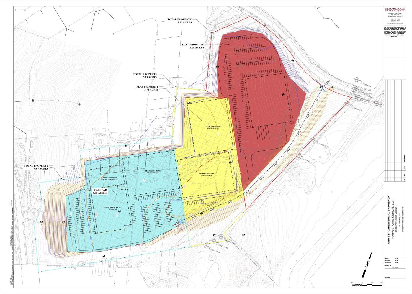 Harrison Regional Industrial Park site drawing