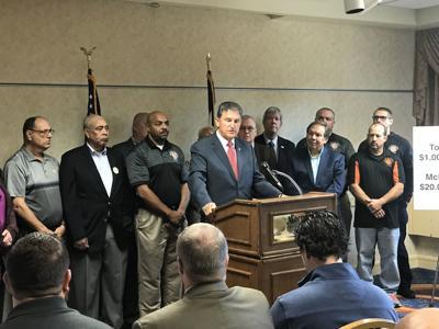West Virginia Sen  Joe Manchin questions state's potential
