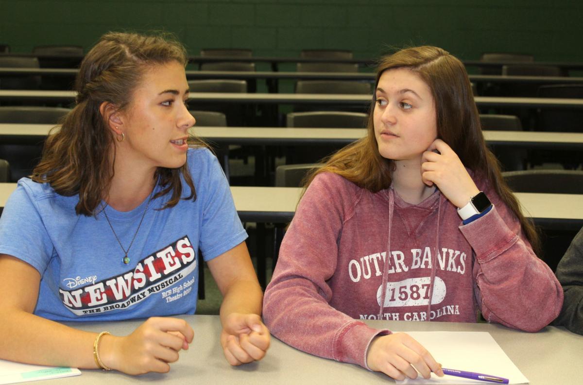 Students present ideas