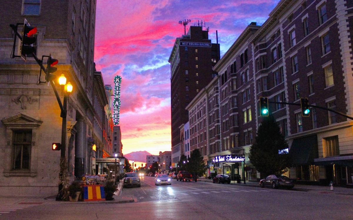 Huntington at twilight