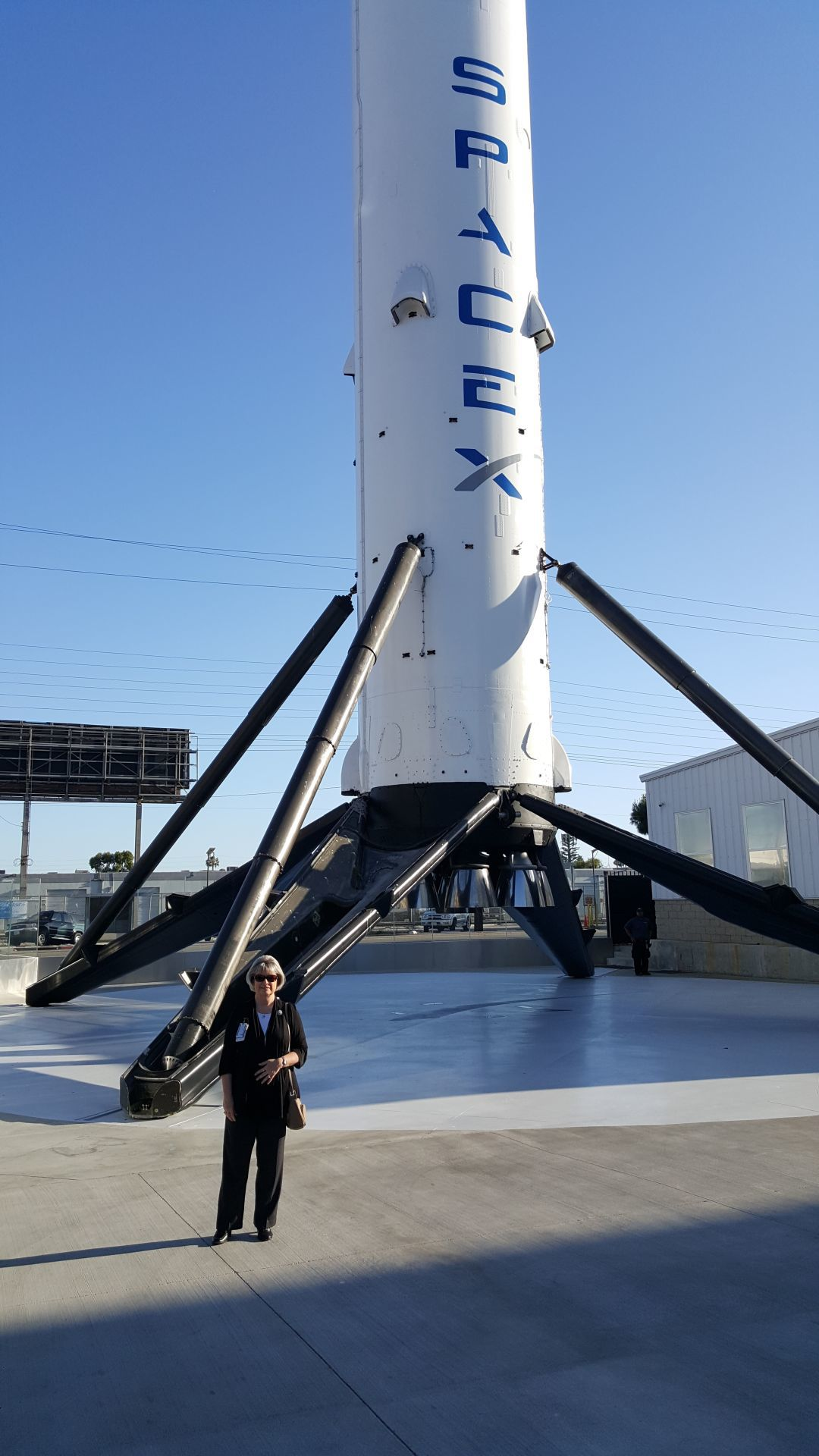 Malnick at SpaceX