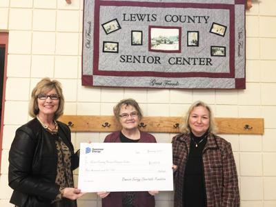 Dominion senior center donation