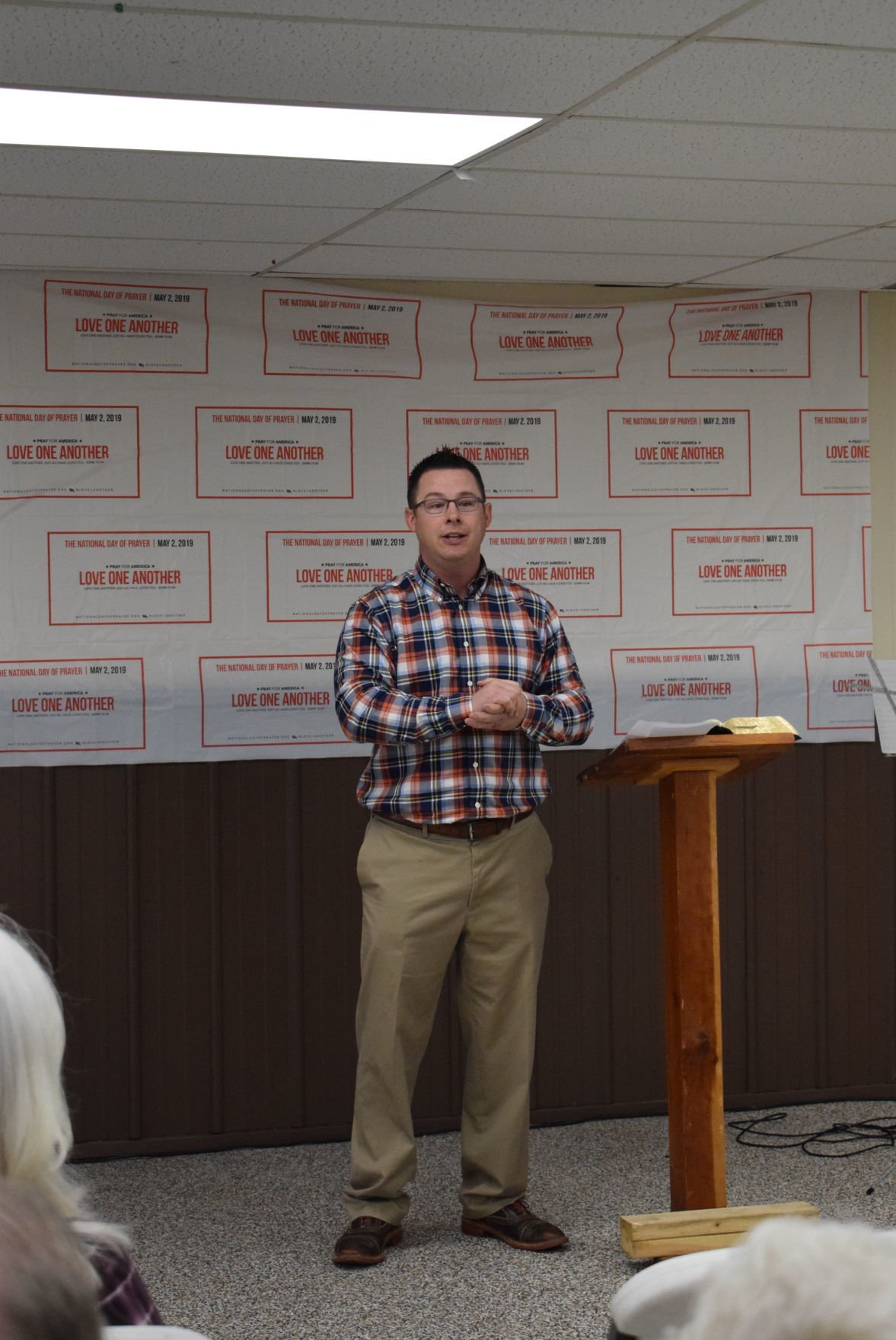 National Day of Prayer observed in Lewis County