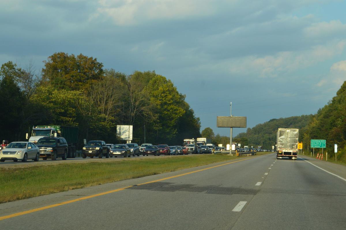Traffic back up