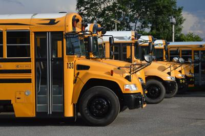 Preston County school buses