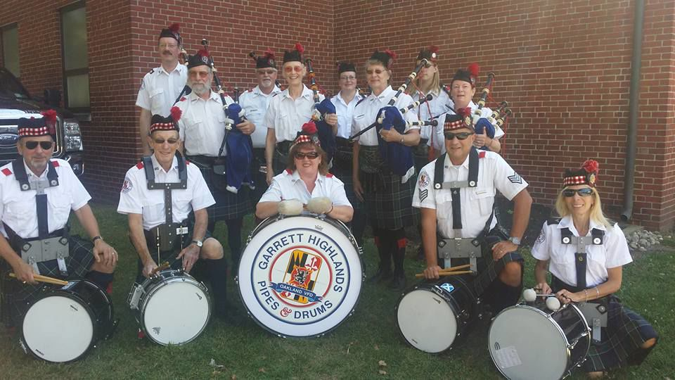 Garrett Highlands Pipes and Drums