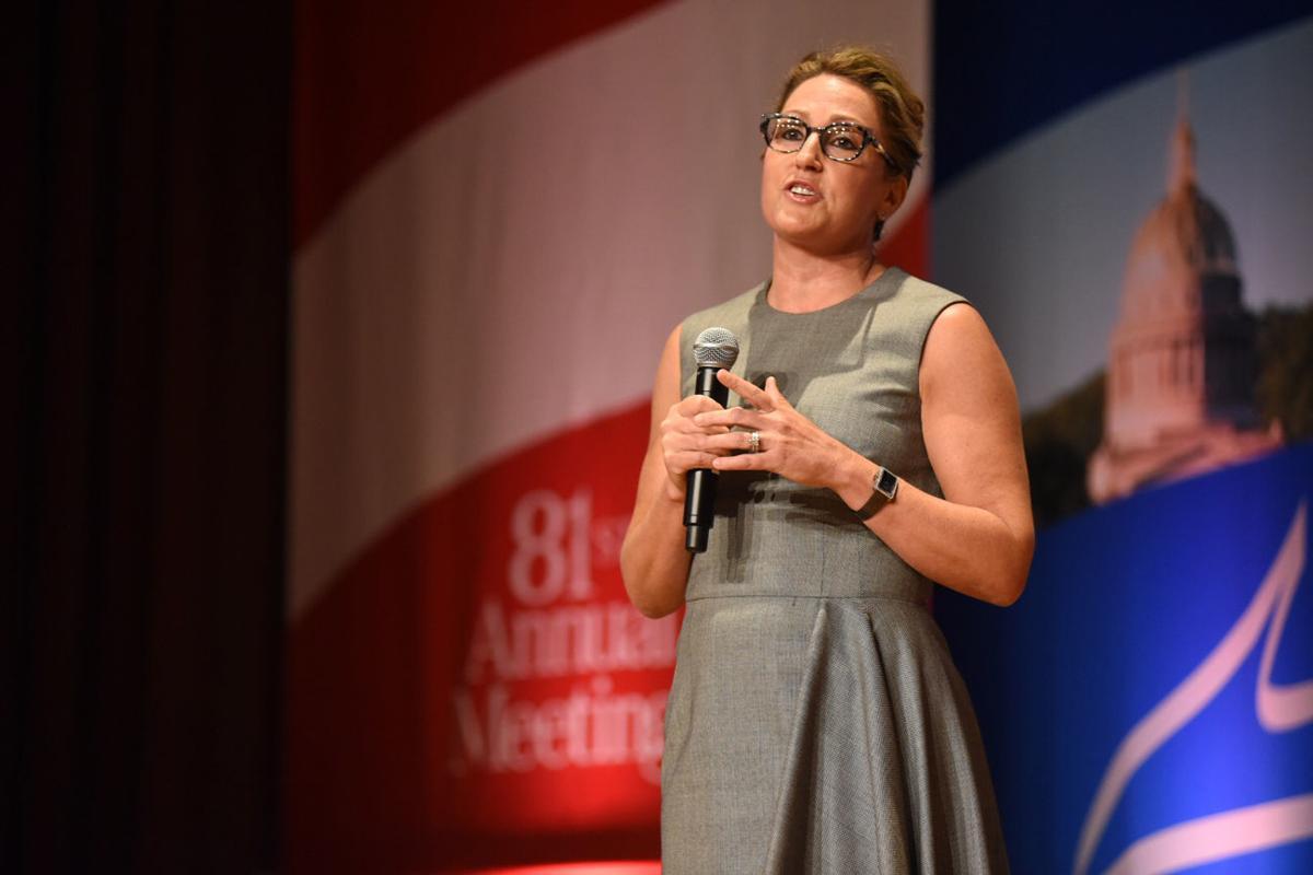 Heather Bresch at WV Chamber Business Summit