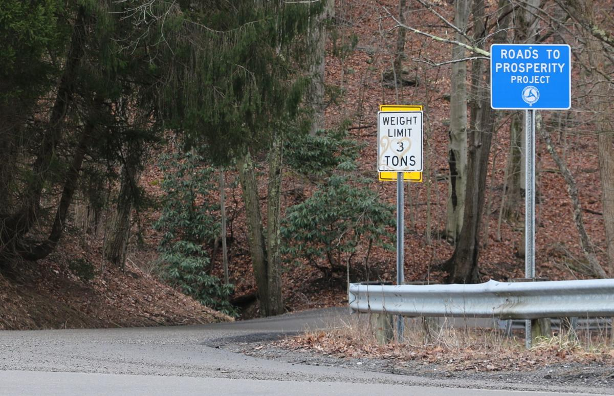 Roads to Prosperity sign
