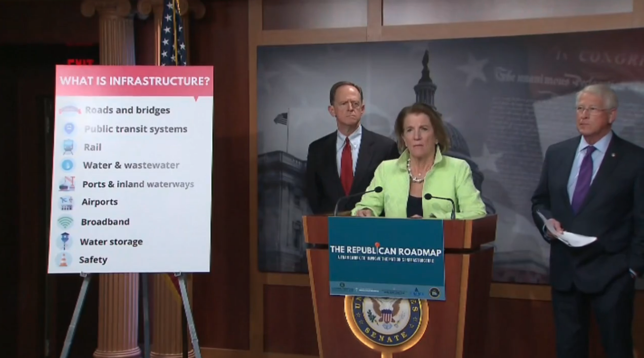 Capito unveiling GOP infrastructure plan