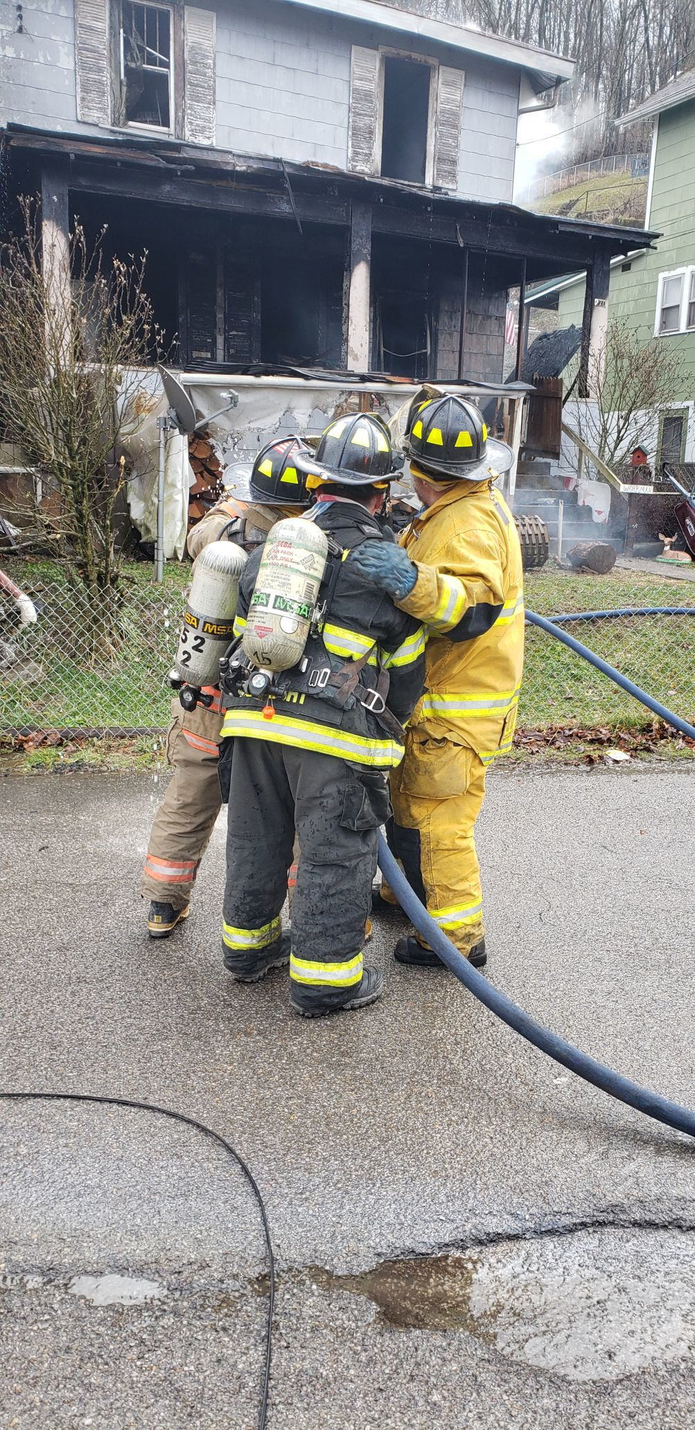 Weston home lost to fire