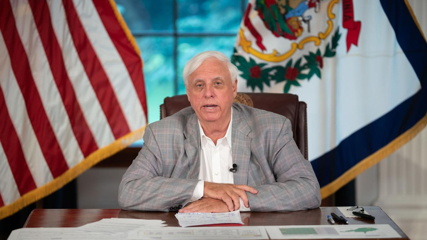 Governor Justice press conference