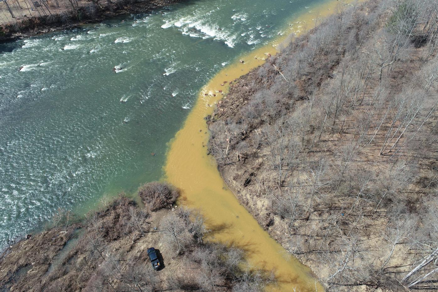 Muddy Creek at Cheat River