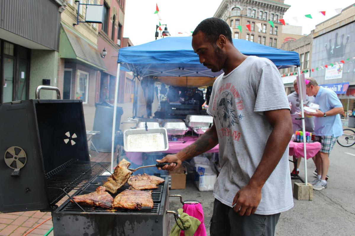 Grilling at Black Heritage Festival