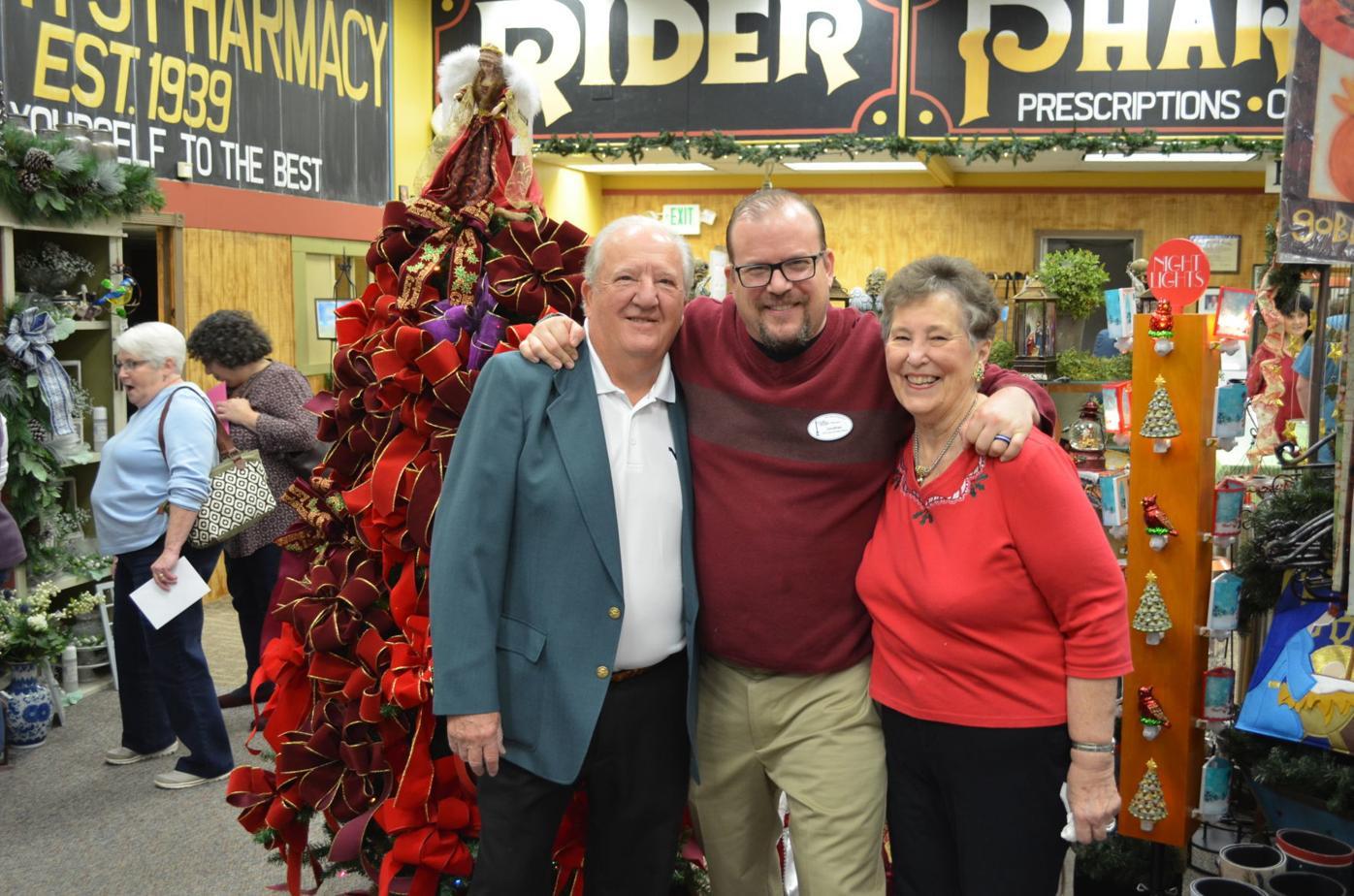 Dan, Jonathan and Barbara Rider