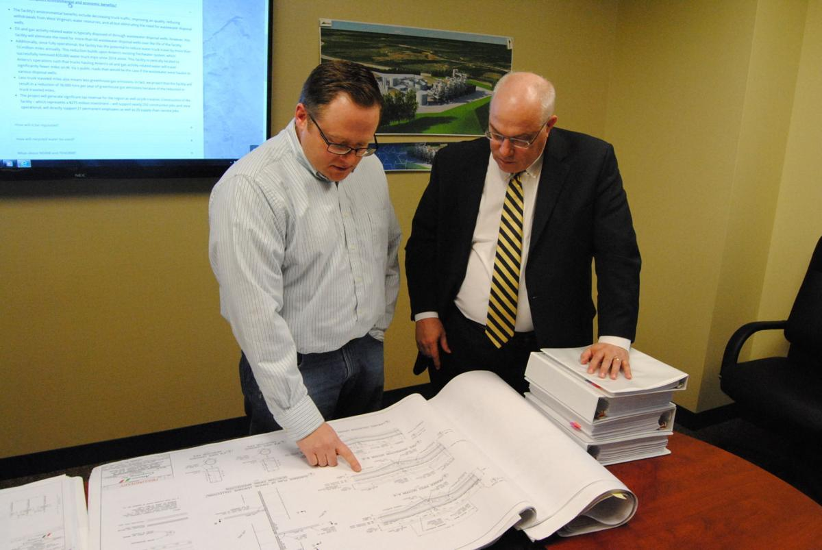 Proposed landfill consists of extensive blueprints