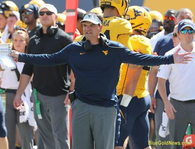 WVU Football Neal Brown Front