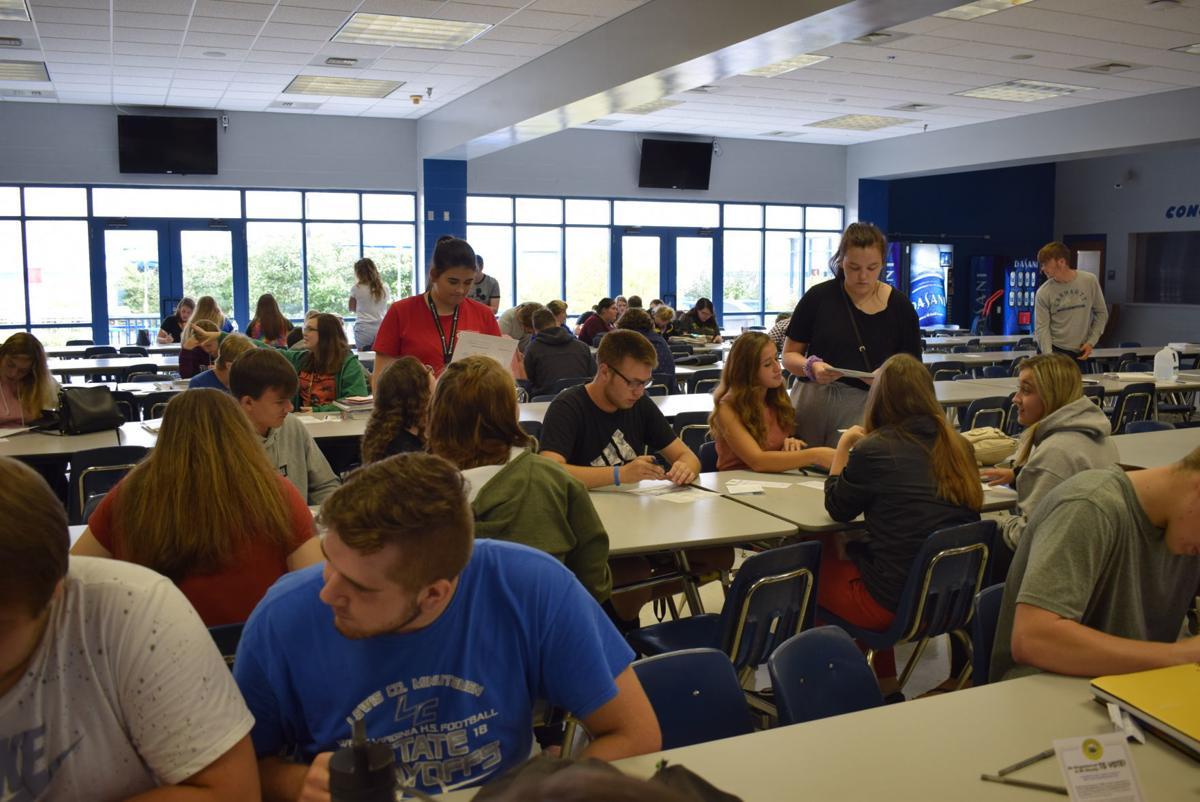 97 LCHS students register to vote