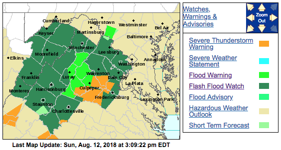 NWS Map 08-12