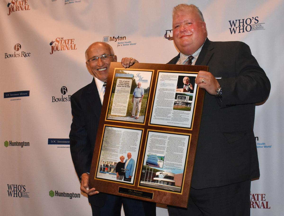 Ike Morris receives lifetime achievement award