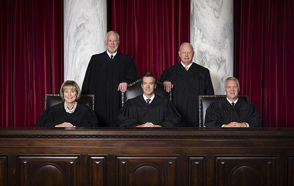 2021 West Virginia Supreme Court portrait