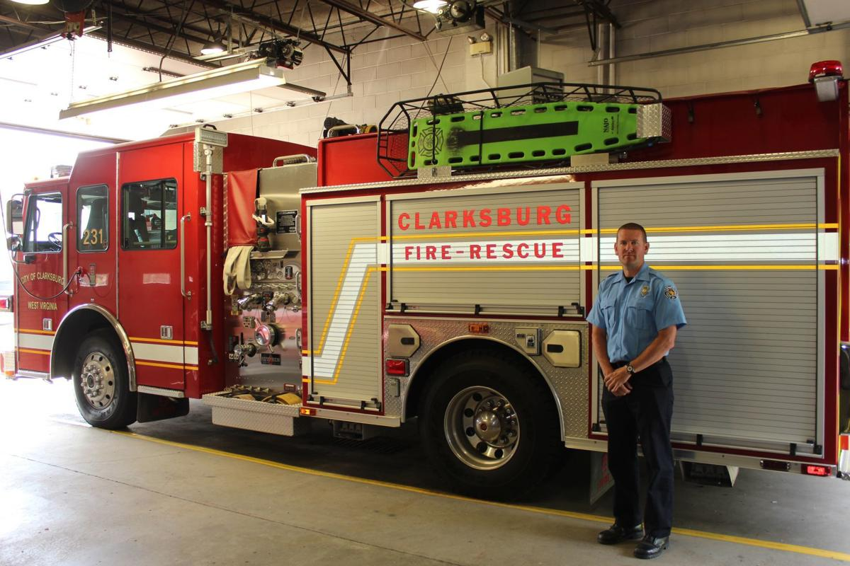 Clarksburg Fireman Mark Walsh remains dedicated to serving