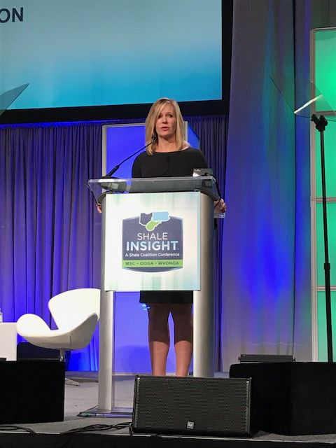 Anne Blankenship opens conference