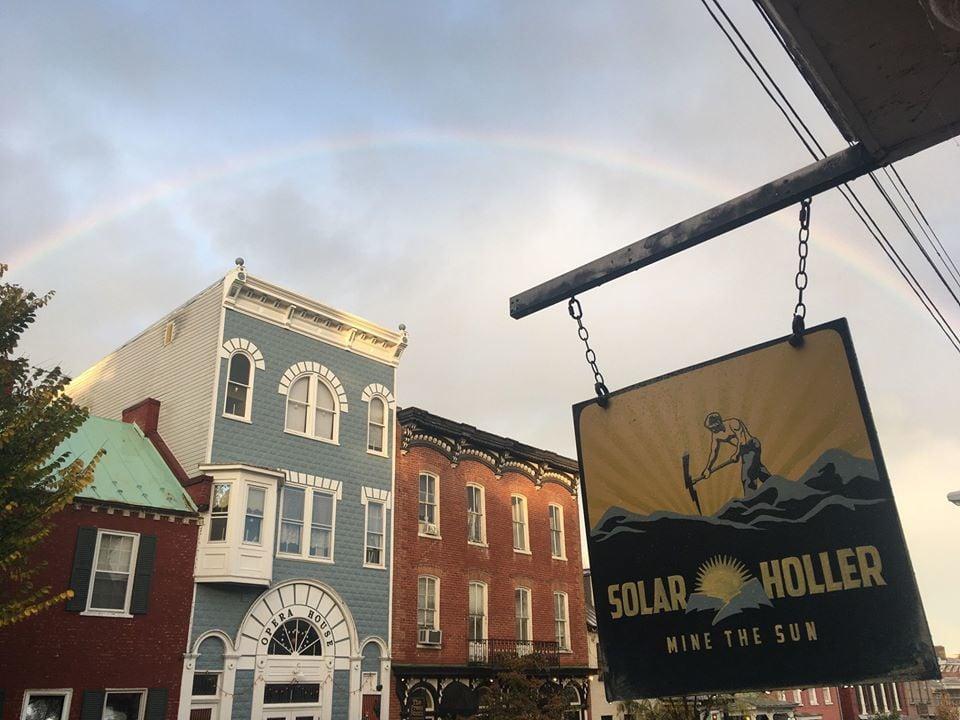 Solar Holler and Rainbow