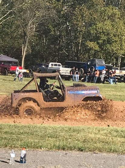 Slingin mud
