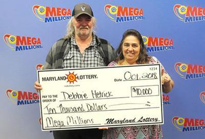 Grantsville woman wins $10,000 Mega Millions prize