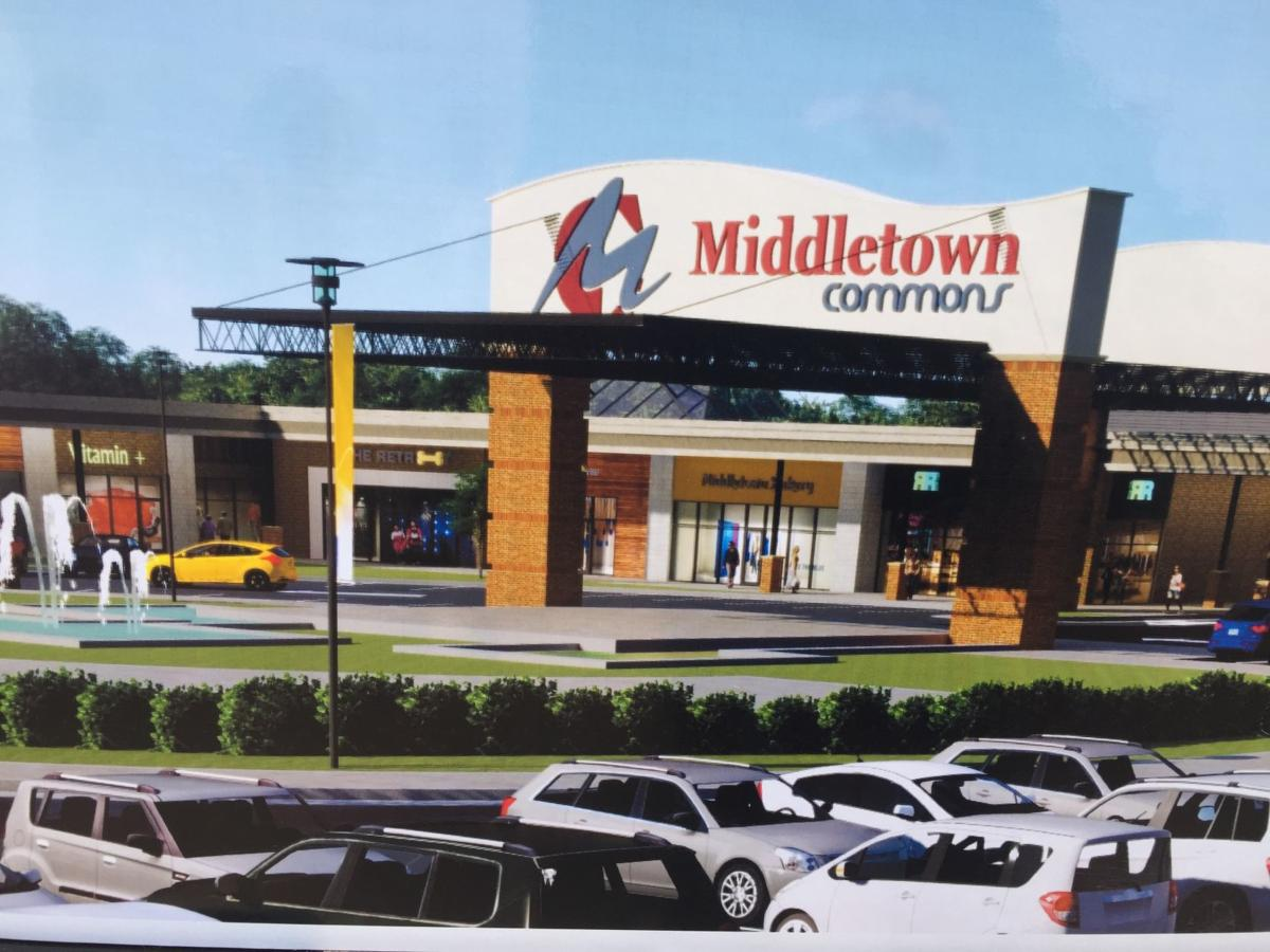 Middletown Commons Entrance Rendering