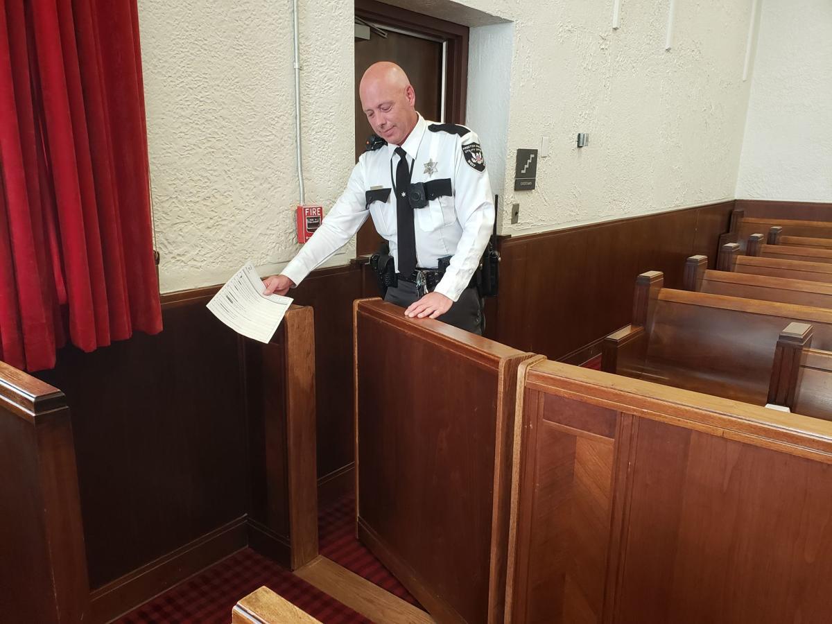 Jury Box Door Access